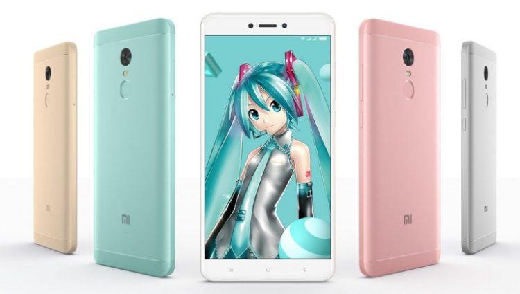 Xiaomi Redmi Note 4X Hatsune Miku Special Edition announced
