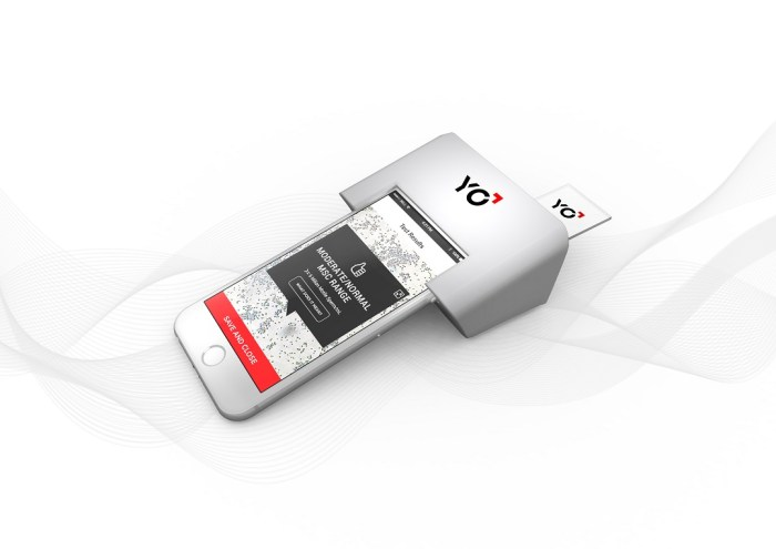 YO Home Sperm Test - Meet YO, An At-Home Sperm Testing Kit and App For Smartphones