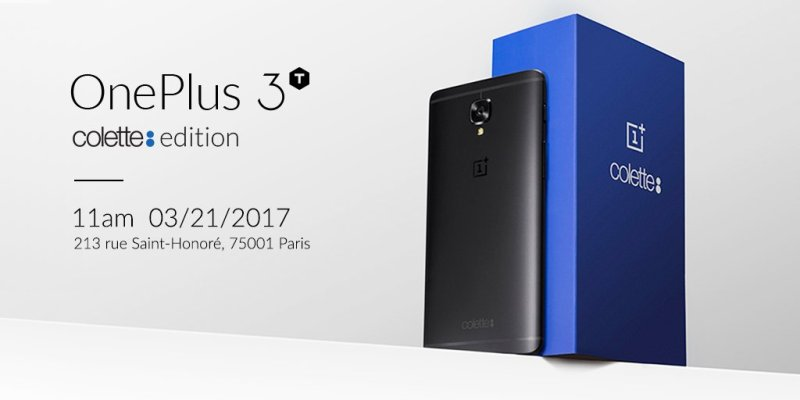 OnePlus announce Limited OnePlus 3T Colette Edition
