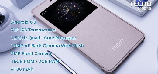Tecno PhonePad 3 Specifications and Pricing