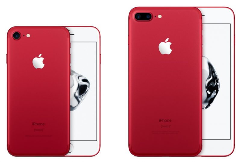 Apple Debuts (PRODUCT) RED iPhone 7 and iPhone 7 Plus Special Edition; New 9.7-inch iPad