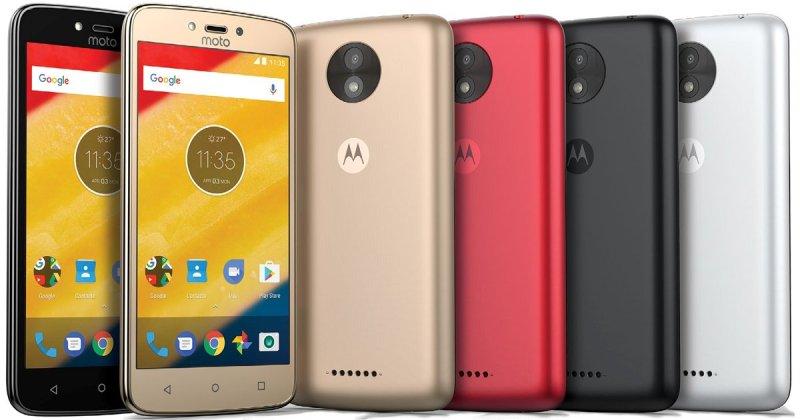 Motorola's Moto C and Moto C Plus