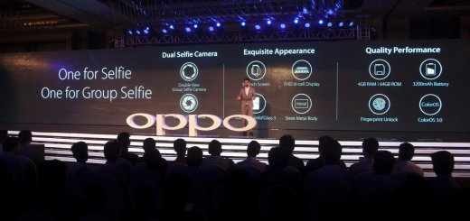 Oppo F3 Debuts In India With Dual Front Cameras (16MP + 8MP)
