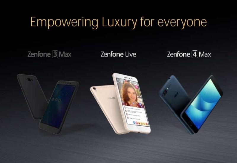 ASUS ZenFone 4 Max - ASUS ZenFone 4 Series Smartphones In The Works