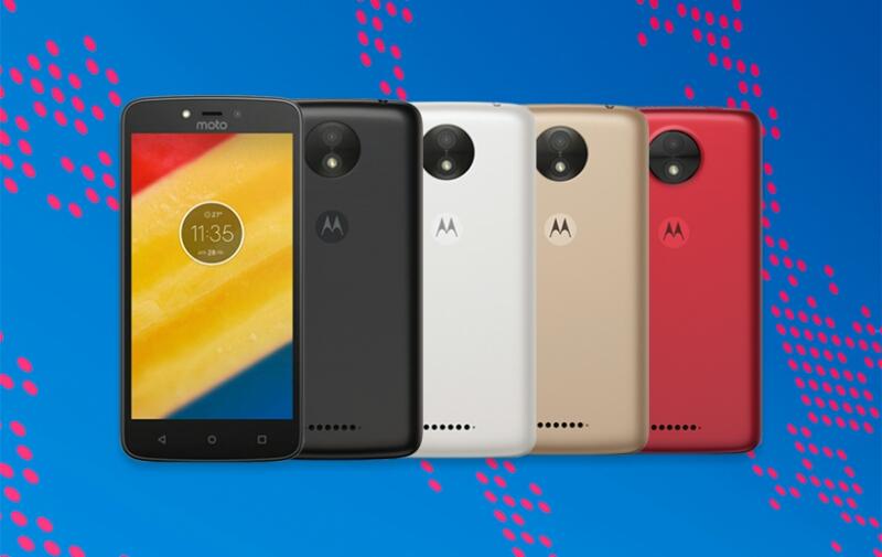 Official: Motorola Moto C and Moto C Plus Smartphones