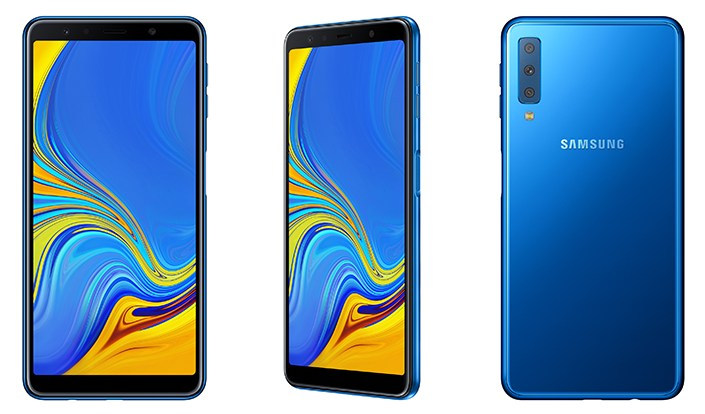 Samsung Unveils Galaxy A7 2018 With Triple Rear Cameras 24mp