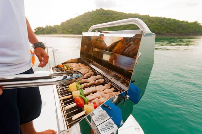 Best Portable Grill For Pontoon Boat
