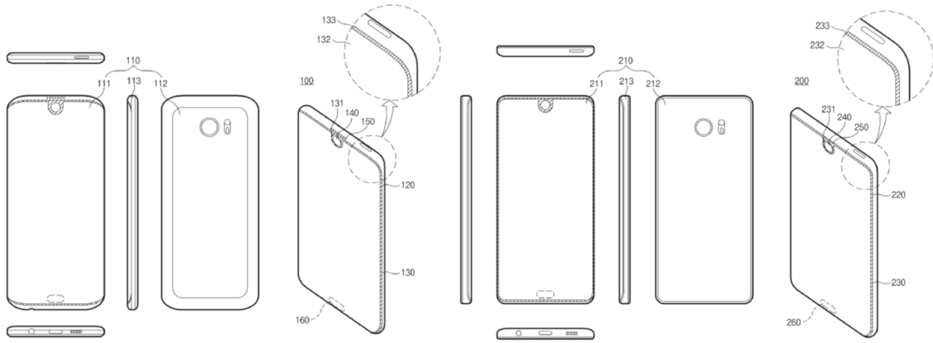 Samsung's registered patents could hint its upcoming