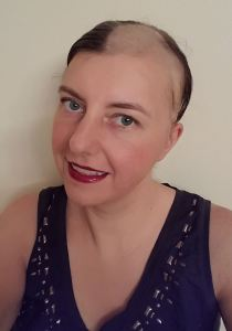 Bald after chemo & radiation