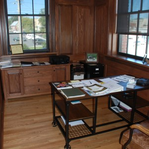 Harrisonburg Depot office