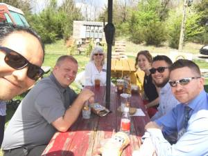 Rotary Club of Rockingham County rotary out to lunch