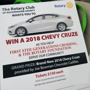 Rotary Car Raffle
