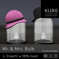 Kuro - Mr & Mrs Bulb @ TGGS