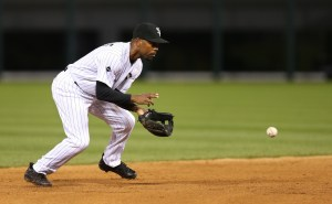 38-year-old Jimmy Rollins isn't ready to retire just yet.  (Chris Sweda / Chicago Tribune)