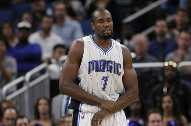 Serge Ibaka is officially a member of the Toronto Raptors. (Reinhold Matay/USA TODAY Sports)