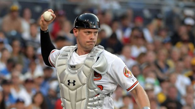 Could Matt Wieters be on his way to Tampa? (Kirby Lee/USA TODAY Sports)