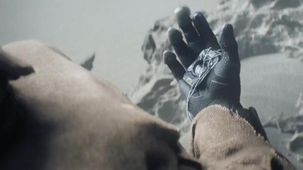 I believe this to be Cortana's chip that's been used to be placed in the Chief's helmet.