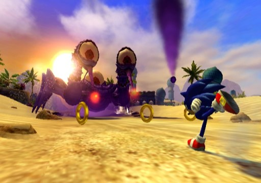 5. Sonic and The Secret Rings