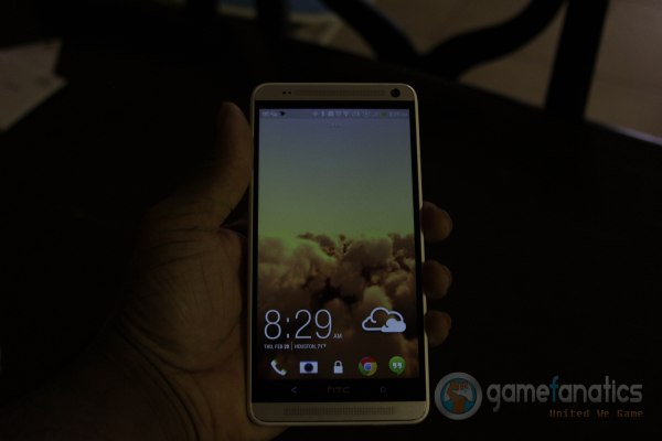 The enormous sreen real estate on the HTC One Max