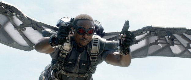 Anthony Mackie as Falcon proved to be an excellent choice. Falcon is a kickass sidekick who provides comic relief and  balances Cap's character
