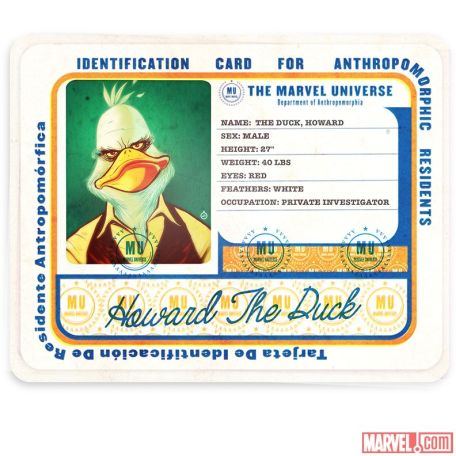 Marvel Hip Hop Variant Howard the Duck