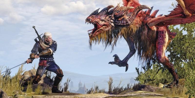 Witcher 3 Combat Monster