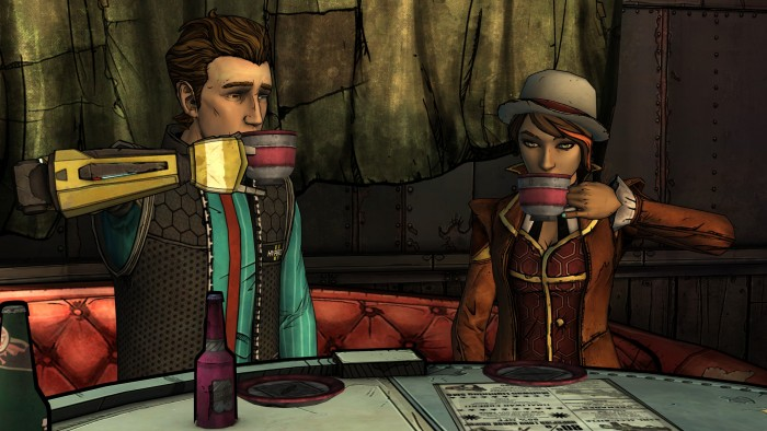 Tales from the Borderlands - A Telltale Game Series: Episode 1 Review Environment 1