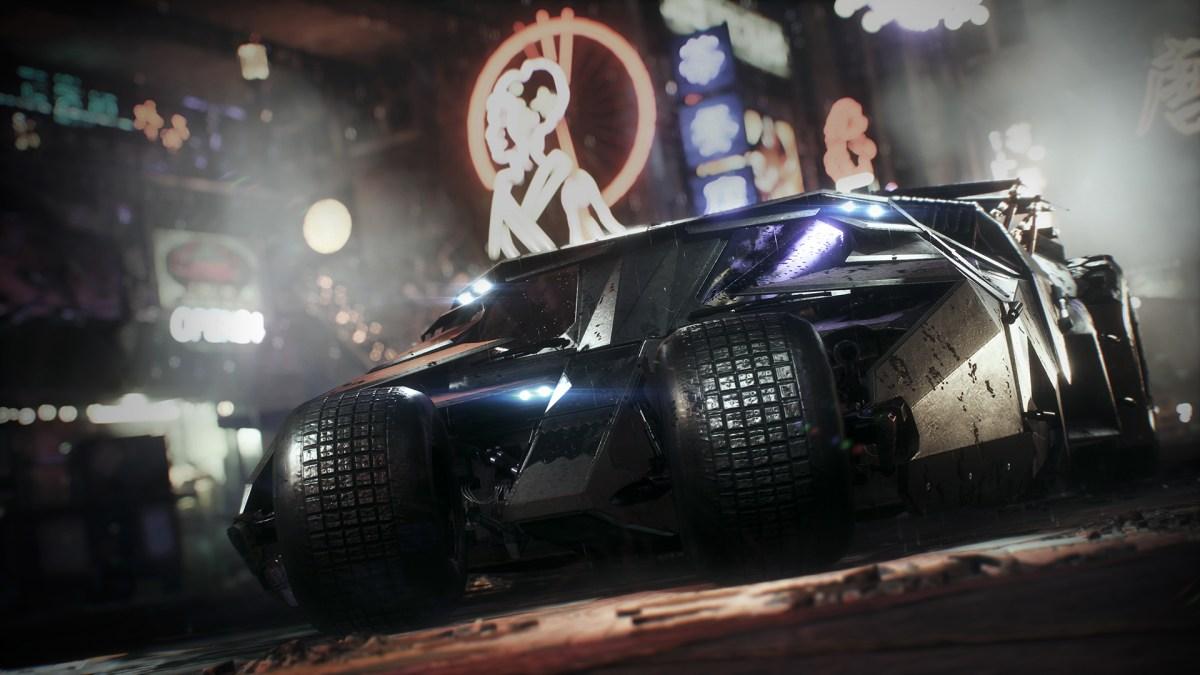 Batman AK Tumbler