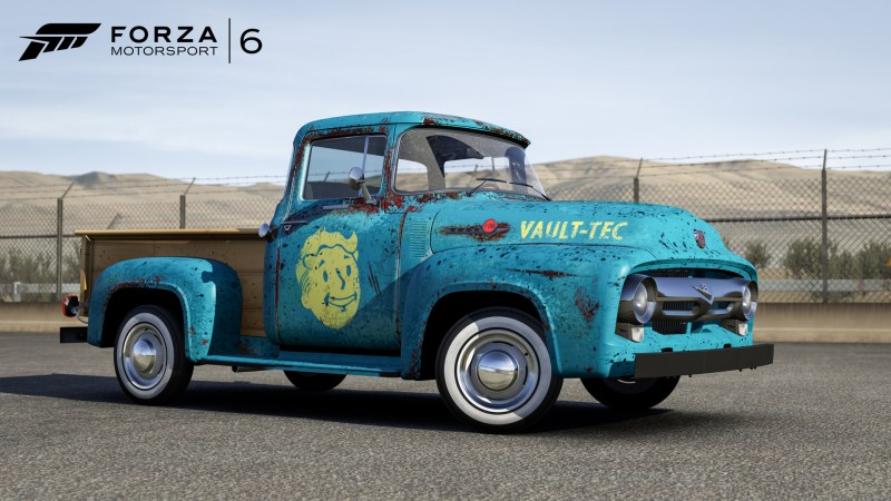 Fallout 4 1956 Ford F100 Front