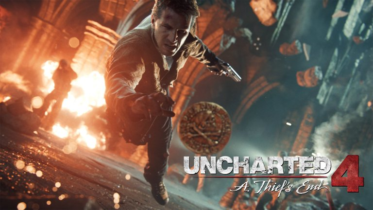 Uncharted 4 Trailer In Star Wars: The Force Awakens