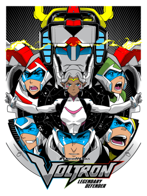 READY TO FORM VOLTRON BY JOSHUA BUDICH