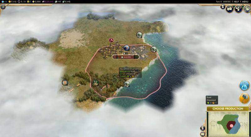 Civilization V screenshot - Civ V