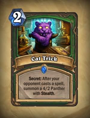 Cat Trick - Hearthstone