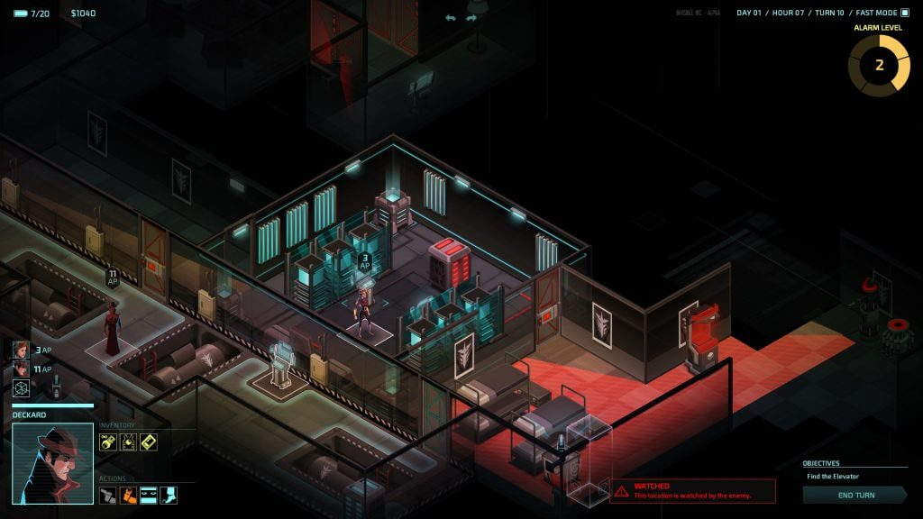 PlayStation Plus - Invisible, Inc.