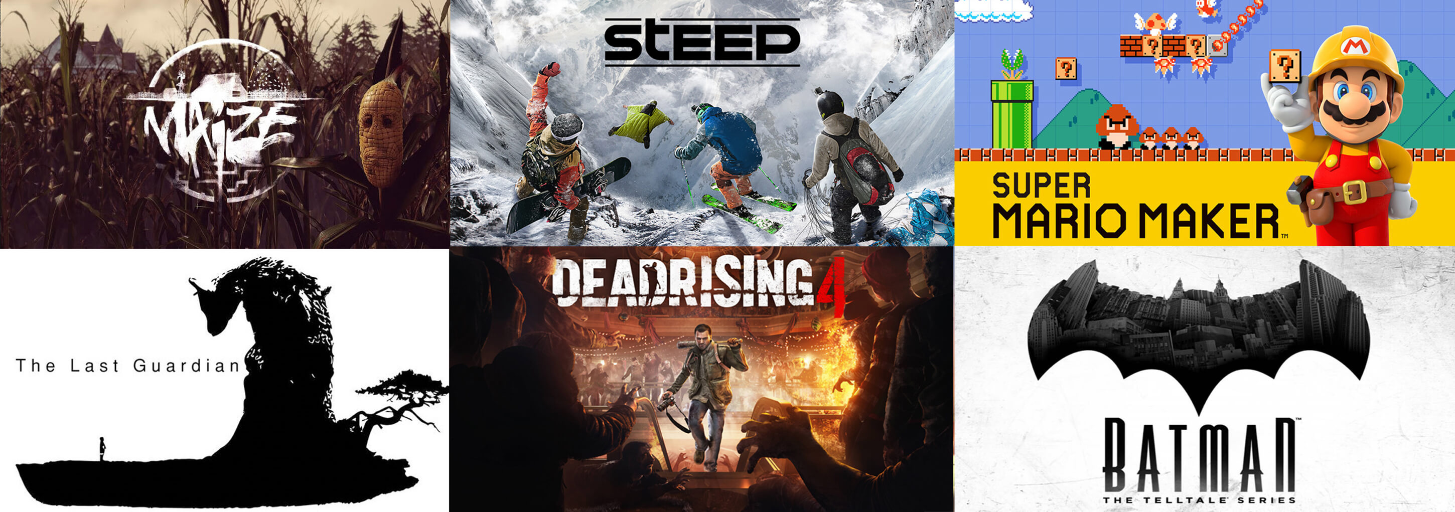 Upcoming Games December 2016