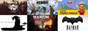 Upcoming Games December 2016