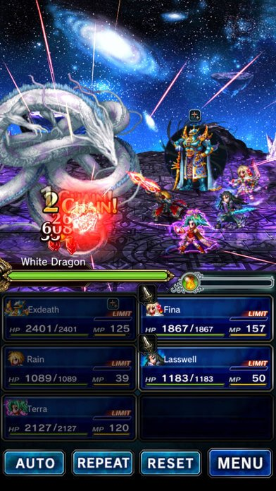 screenshot of Final Fantasy Brave Exivus