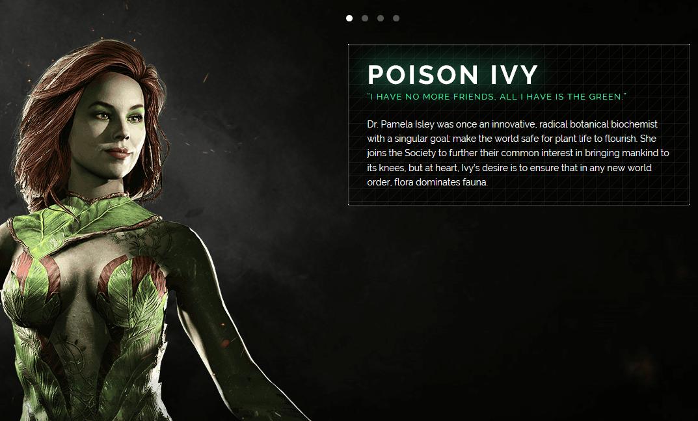 Poison Ivy Injustice 2