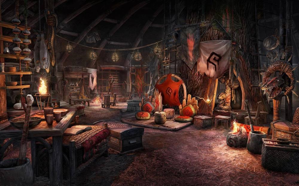 The Elder Scrolls Online Homestead DLC Interior