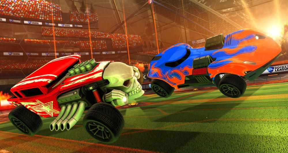Rocket League Hot Wheels Update
