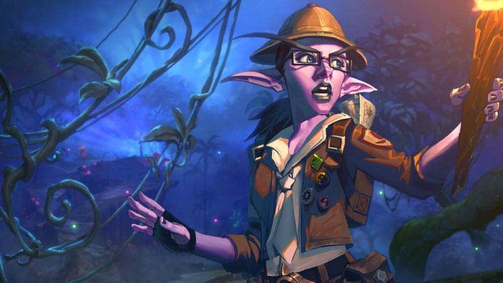 Elise Starseeker from Hearthstone's Journey to Un'Goro expansion