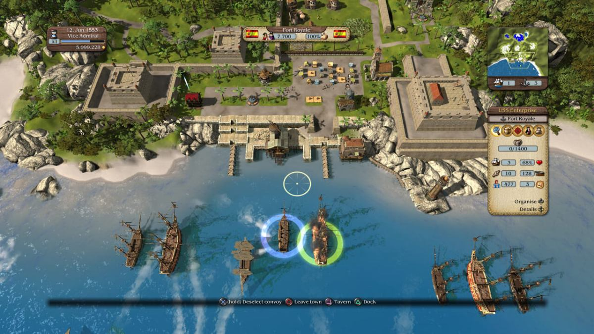 PlayStation Plus - Port Royale 3: Pirates and Merchants