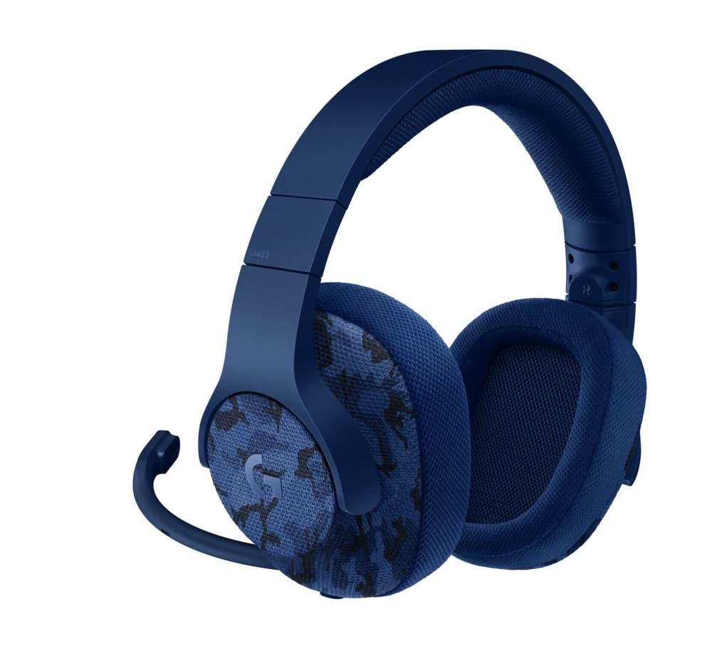 Logitech G433 Camo Blue