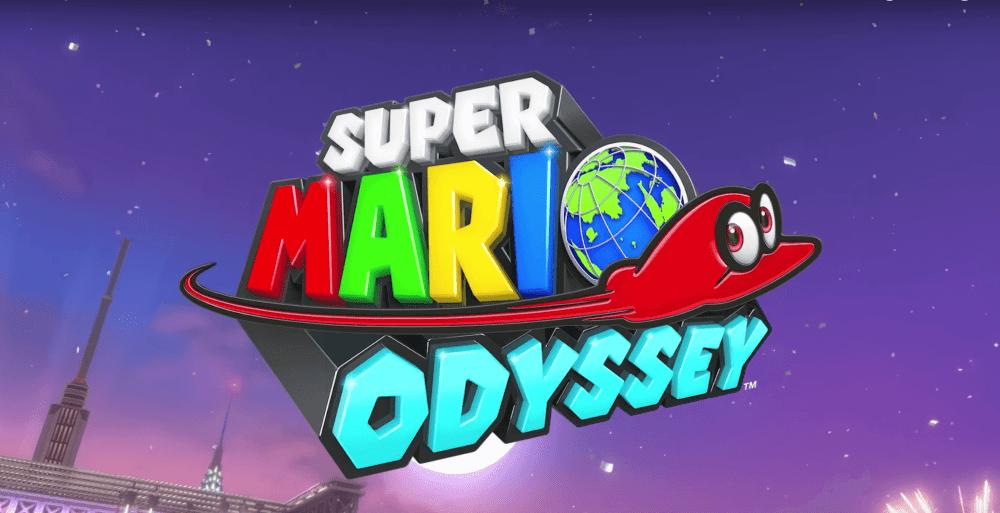 Super Mario Odyssey E3 2017 Title