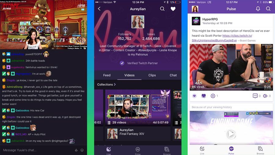 Livestream And UI Updates Added To Twitch Mobile App - The