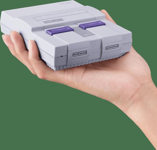 SNES Classic size