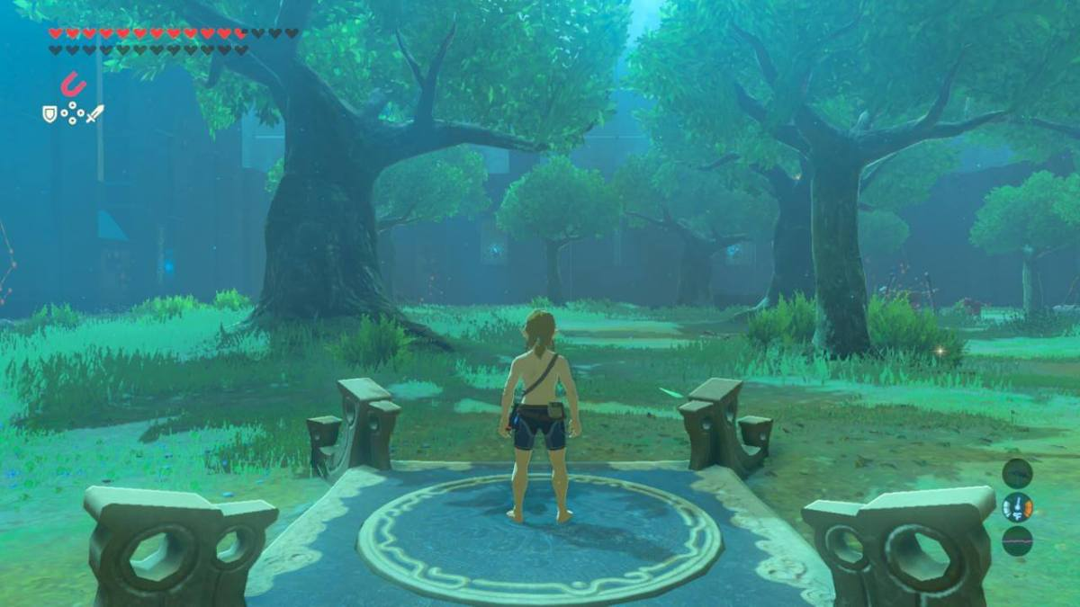 Zelda Breath of the Wild Trial of the Sword Main