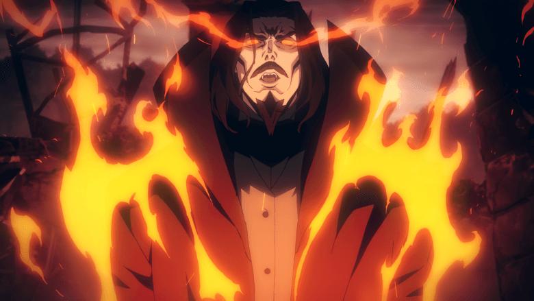 Castlevania anime series