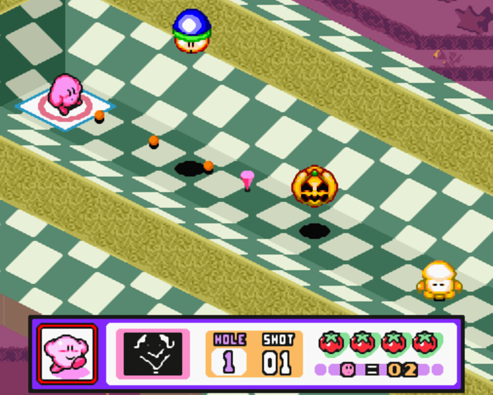 Kirby's Dream Course SNES Classic