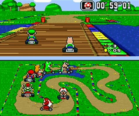 Super Mario Kart SNES Classic